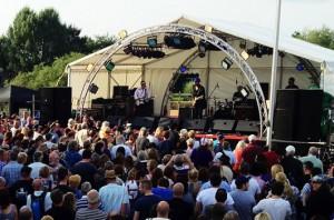 Upton Blues Live Stage