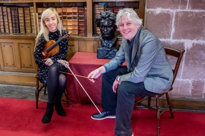 Orchestra come face to face with Beethoven in Cathedral Library