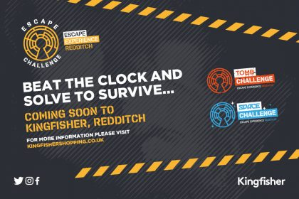 Escape Challenge Redditch is coming to Kingfisher!