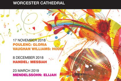 Worcester Festival Choral Society Concerts and events 2018-19