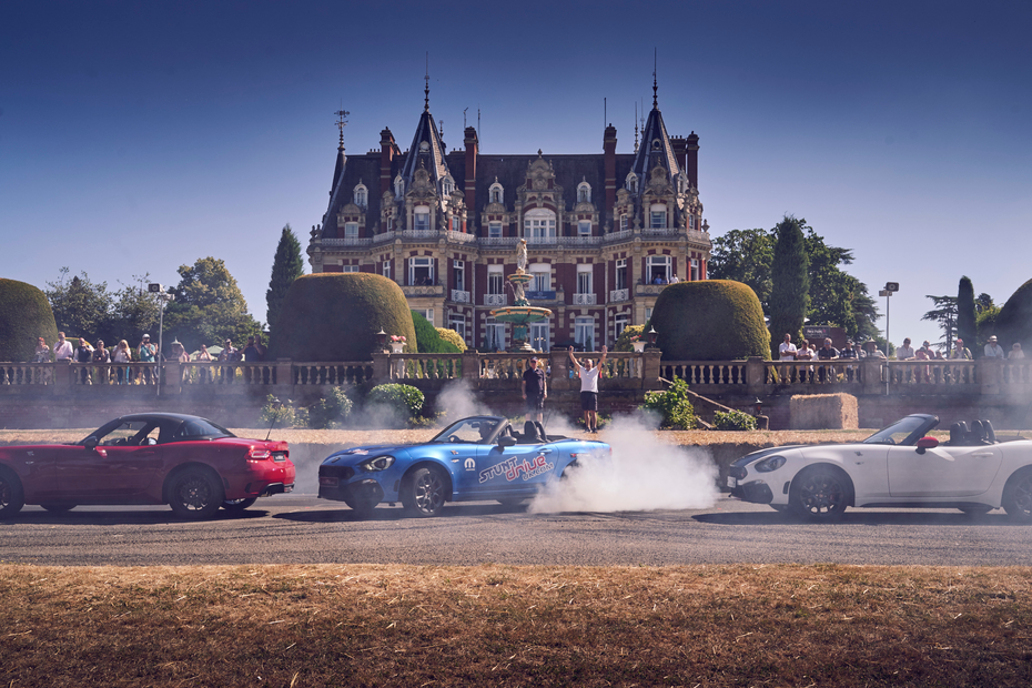 British Racing Weekend Experience The Chateau Impney Hill Climb